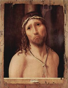 "Ecce Homo - Antonello da Messina, 1473 ""Behold the Man"""