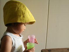 CHILDRENS SUMMER HAT / girls / boys / baby hat / by PAMELATANG