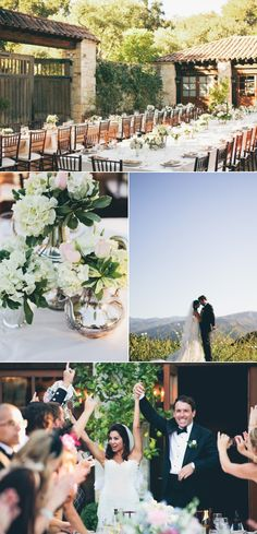 Our Carmel California wedding on Style Me Pretty