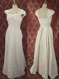40s wedding dress