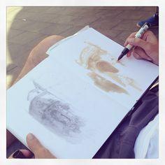 Urban Sketchers Symposium Barcelona - Draw By Eduardo Bajzek Barboza