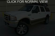 ford excursion 7.3 White