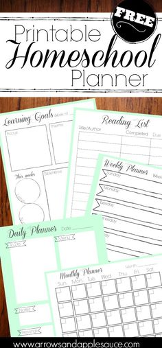 Get organized in the new year with our new free printable homeschool planner. Get organized in the new year with our new free printable homeschool planner. Teacher Planner Free, Teacher Lesson Planner, Happy Planner, Teacher Resources, Organized Planner, Teacher Binder, Teacher Hacks, School Resources, Learning Resources