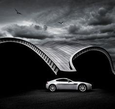 aston martin car photography