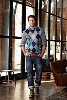 O Look Certo: Malha, Camisa Xadrez e Jeans
