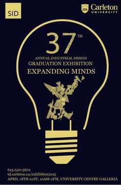 In response to the need of the SID (School of Industrial Design) program. I designed some posters for the promotion of Industrial    Design Annual Graduation Exhibit. I chose a light bulb as the outline of the poster, because light bulbs represent ideas and inspiration.