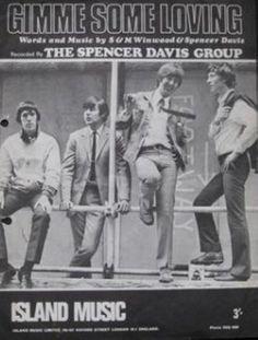 1966 Sheet music - The Spencer Davis group