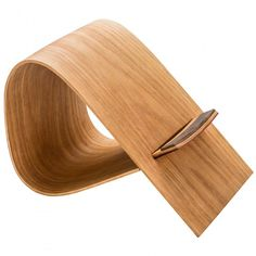Use our steam bending kit to bend wood to create a tablet or cookbook holder.