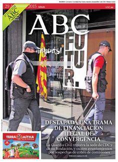 La portada de ABC del sábado 29 de agosto