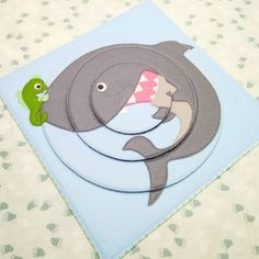 И ещё один пазл - крутим диски, собираем акулу #развивающиеигрушки #пазлизфетра #детскийпазл #чемзанятьребенкадома #учимсяиграя #акула…