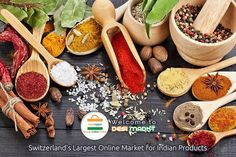 Desimarkt.ch is Switzerland Largest online Indian Grocery store, offering an unbeatable range of Indian groceries at competitive prices.