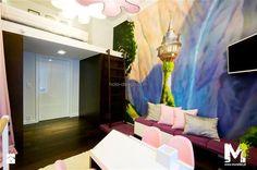 Apartament na Mokotowie w Warszawie - 3m x 5m - zdjęcie od MURALIST - Pokój dziecka - Styl Tradycyjny - MURALIST