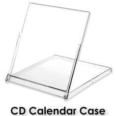 CD Calendar Jewel Case and Pouch