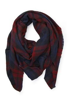 This oversized plaid scarf is a must for the fall/winter season!! And such a good price too!!!