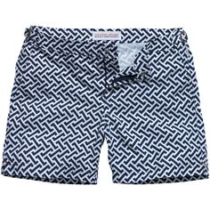 Orlebar Brown Bulldog Short in Geometric Print