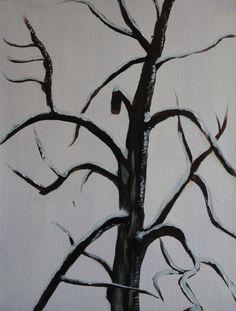 Verdwenen Boom  || Lost Tree - Acryl