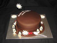 Mary Poppins' hat cake (18th birthday)