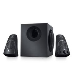 These powerful 200 watt Logitech PC Speakers deliver bold, big audio to your games, music and movies.With two powerful speakers and a subwoofer, the Logitech Speaker System features inte Computer Audiophile, Best Computer Speakers, Logitech Speakers, Computer Gadgets, Multimedia Speakers, Best Speakers, Home Speakers, Stereo Speakers, Buy Computer