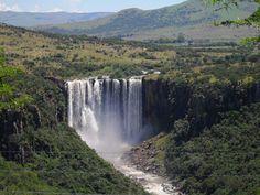 Bramleigh Manor - Daytrips. KwaZulu Natal Midlands, Meander KZN, near Dargle, Kamberg, Sani Pass, Drakensberg, Howick, Mooi River, in South Africa  - (Zulu Falls)