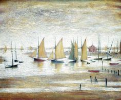 Yachts at Lytham | Art2Order | Next.co.uk