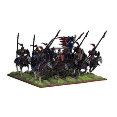 UNDEAD REVENANT CAVALRY, from Kings of War, by Mantic Games