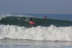 Sup Trail 1, a fun beach break in San Clemente, CA.