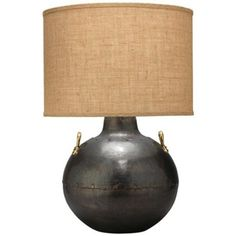 Jamie Young Iron Kettle Table Lamp - 25'ht Guest Bedroom