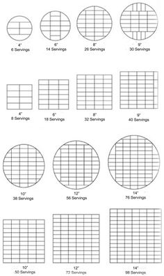 Portion and Cake Advice - Sweet Fantasies - Cake Makers Staffordshire Cake Sizes And Servings, Cake Servings, Cake Decorating Tools, Cake Decorating Techniques, Cake Portion Guide, Cake Serving Chart, Cake Storage, Cake Portions, How To Stack Cakes