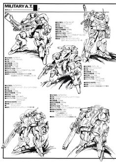 装甲騎兵ボトムズ Military A.T