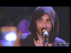 30 Seconds To Mars - Alibi live @ Radio-Sputnik - He's so adorable in this video^.^ I just wish the crowd would give a little more feedback:/