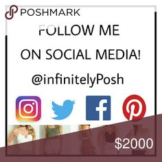 FOLLOW ME ON SOCIAL MEDIA Hi everyone! My name is Caymielyn! I'm super excited to get my home Retail / Online business going! I'm working really hard on constantly getting new inventory for my Closet as this is the only form of income I will be having. I figured the best way to raise my children is to stay at home with them, and found Poshmark at just the perfect timing. I'm ever so grateful! All the proceeds go to help supporting them and my family. Thank you so much for helping me build my…