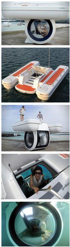 Personal sub marine boat