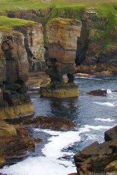 The Cliffs of Yesnaby, Orkney Island, Scotland