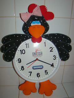 Relógio Galinha D'Angola