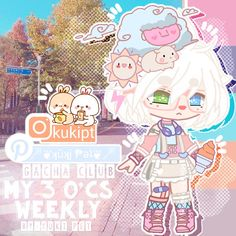 Anime Fnaf, Anime Neko, Kawaii Anime, Character Outfits, Cute Anime Character, Halloween Club, Club Hairstyles, My Little Pony Drawing, Club Design