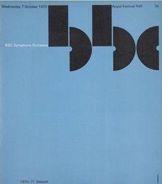 BBC Symphony Orchestra Programme, Cover 1970