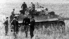 Tiger I. Summer 1943. Kursk