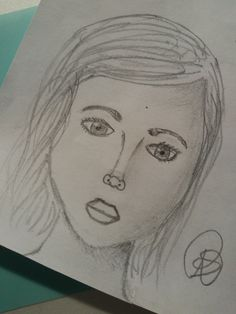 Girl my drawings by Renske