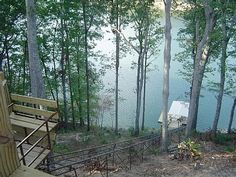 Smith Lake vacation house: Tram to Boat Dock Bodega Bay Camping, Camping In Texas, Camping World, Lake Dock, Boat Dock, Camping In Pennsylvania, Camping Equipment Rental, Lake House Plans, Luxury Camping