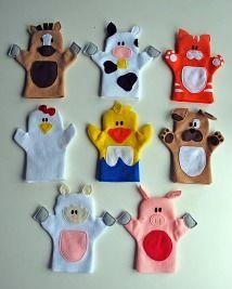 Free pattern: Old MacDonald Had a Farm puppet set · Sewing | CraftGossip.com
