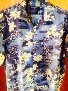 "Luxury Vintage Store (Clothing & Accessories): Polo Sport - Ralph Lauren ""Floral"" Ocean Short Sle..."