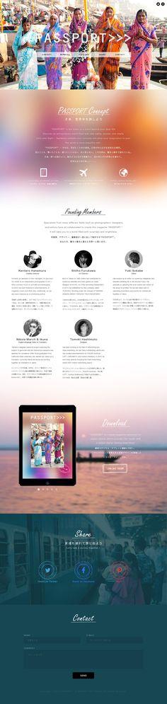 PASSPORT Landing Page | FUKASIGI