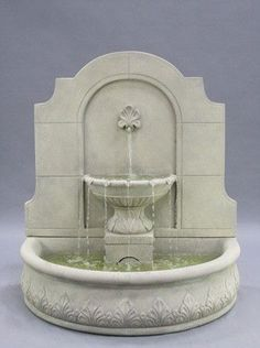 Free Shipping And No Sales Tax On The Provincial Outdoor Wall Water Fountain  From Outdoor Fountain