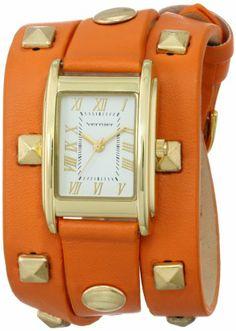 Vernier Women's Analog Display Japanese Quartz Orange Fashion Watch Vernier on sale now - Gorgeous fashion watch Amazon ~ $28.50