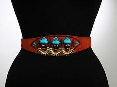 Seriously? This woman was so beyond her time - I would have loved to have just spent 1 hour with her! Elsa Schiaparelli vintage 1930s Belt