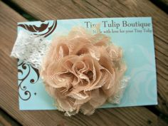 Baby Headband by TinyTulipBoutique, $13.00