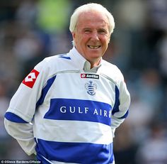 Bowles, pictured in has been voted the greatest ever Queens Park Rangers player by fans Queens Park Rangers Fc, Retro Football, West London, Motorcycle Jacket, Legends, Rain Jacket, Windbreaker, Soccer, Fans
