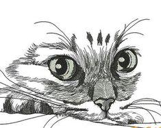Résultats de recherche d'images pour «embroideries cat»