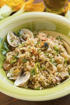 Seguendo i nostri consigli e utilizzando il vostro Bimby, potete preparare un delizioso risotto ai frutti di mare! Provate e rimarrete soddisfatti.