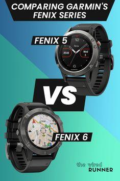 Comparing Garmin's Fenix Series: fenix 5, 5S, 5X vs 6, 6S, 6X Running Gps, Gps Watches, Fitness Tracker, Health, Health Care, Salud
